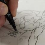 Disegnatori al lavoro su Zagor