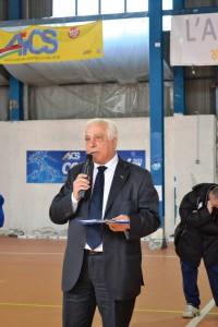 Il presidente Aics  Lillo Margareci