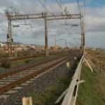 """Tratto ferroviario """"ripulito"""" dal rame"""