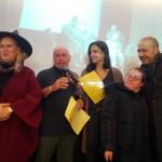 Foto di gruppo con Ambra Visicaro