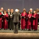 Coro al Teatro Vittorio Emanuele