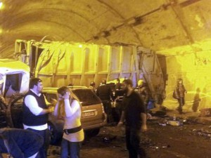 ++ Incidenti stradali: quattro morti in galleria Sicilia ++
