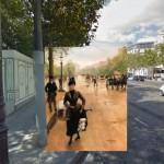 Jean Béraud, La Modiste Sur Les Champs-Élysées: i Campi Elisi nel 1889