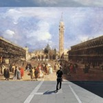 Francesco Guardi, vista di Piazza San Marco