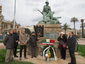 una preghiera per gli aritiglieri delle batterie siciliane e per tutti i caduti della battaglia di Adua del 1° marzo 1896
