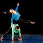 Sarah Lanza e Laura Licciardello, direttici artistiche della compagnia e coreografe di ConTatto