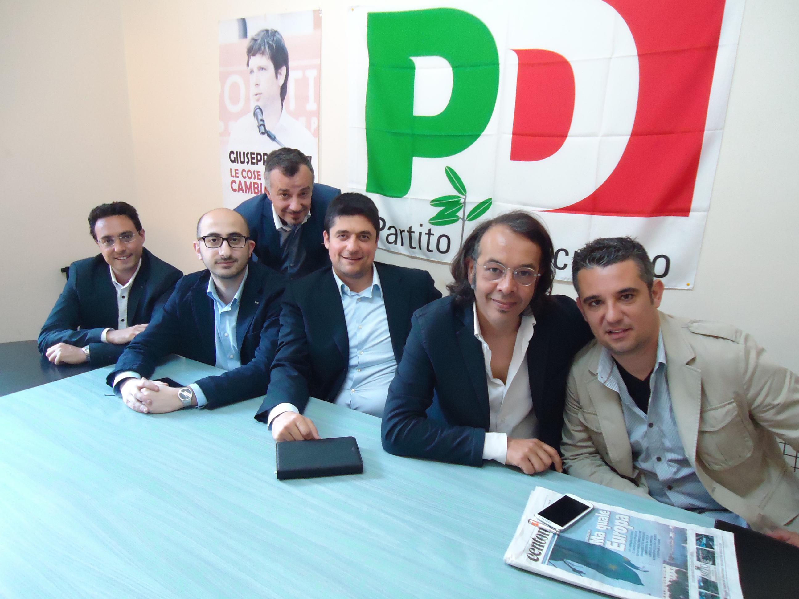 comitato-Area-Civati_Pintaudo_Foti_David_De-Francesco_Di-Cesare_Visalli_quimessina