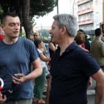 Manifestazione cavalcavia no tir Pinelli (1)