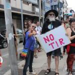 Manifestazione cavalcavia no tir Pinelli (2)