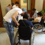 disabili in attesa di parlare con sindaco_messinaora