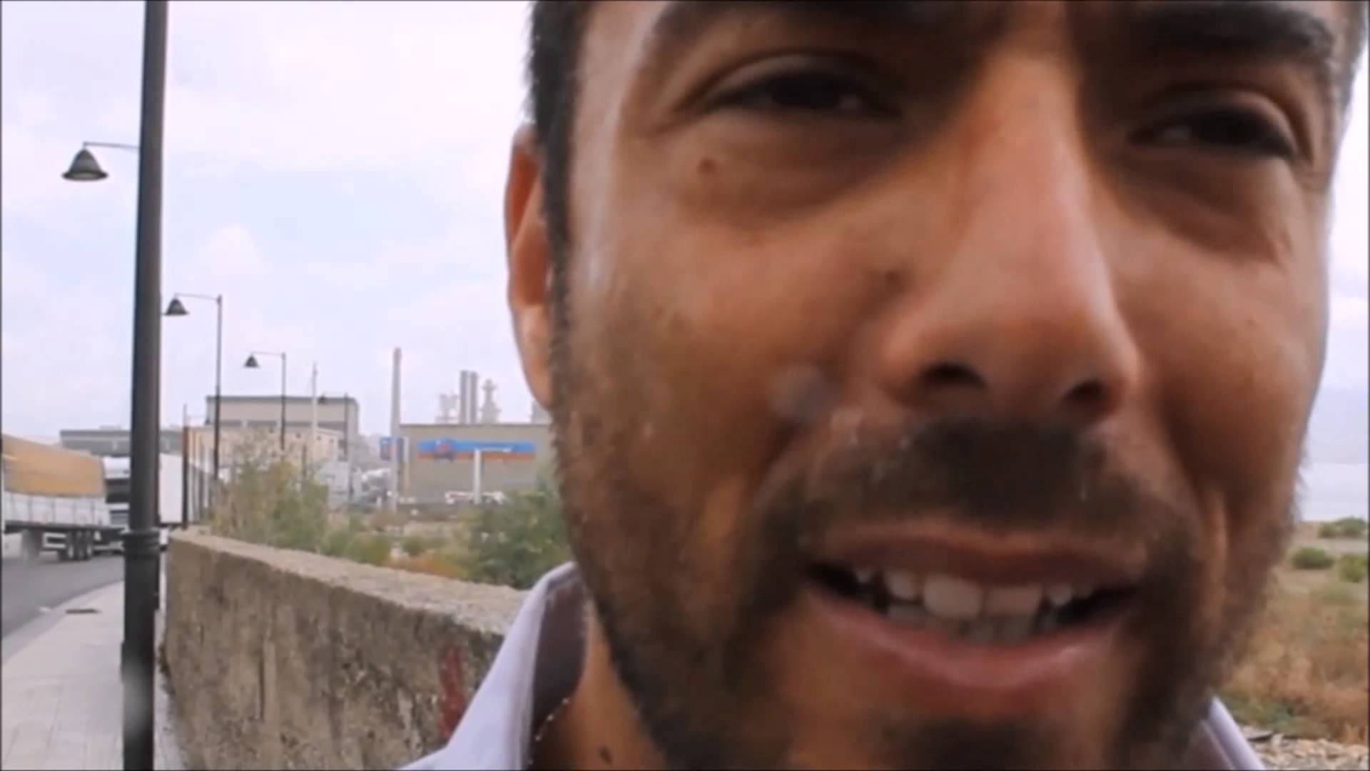 Blocco anti TIR sul cavalcavia:Intervista a Daniele Zuccarello