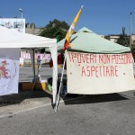 Blocco forconi alla Rada San Francesco (1)