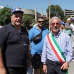 Ferro con Luigi Ammantuna, sindaco di Pozzallo