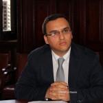 Conferenza stampa capigruppo csx Messinambiente (1)