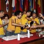Festeggiamenti Nibali durante arrivo tappa (12)