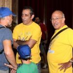 Nibali a Parigi tifosi e amici iniziano a raggiungere il municipio (7)