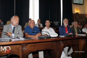 Da sinistra, De Simone, Richichi, Samiani, Accorinti, Cacciola