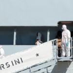 27 agosto 2013 Sbarco migranti al porto di Messina (3)