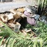1 settembre 2014 rifiuti e suppellettili invadono il torrente Zafferia,  rischio idrogeologico  ed inquinamento ambientale (11)