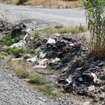 1 settembre 2014 rifiuti e suppellettili invadono il torrente Zafferia,  rischio idrogeologico  ed inquinamento ambientale (13)