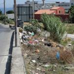 1 settembre 2014 rifiuti e suppellettili invadono il torrente Zafferia,  rischio idrogeologico  ed inquinamento ambientale (16)