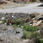 1 settembre 2014 rifiuti e suppellettili invadono il torrente Zafferia,  rischio idrogeologico  ed inquinamento ambientale (17)