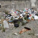 1 settembre 2014 rifiuti e suppellettili invadono il torrente Zafferia,  rischio idrogeologico  ed inquinamento ambientale (5)