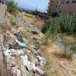 1 settembre 2014 rifiuti e suppellettili invadono il torrente Zafferia,  rischio idrogeologico  ed inquinamento ambientale (6)