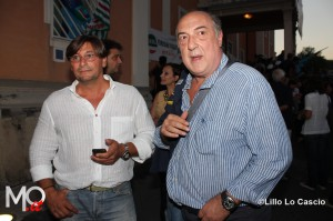 Silvano Arbuse, a destra