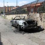 Auto incendiate C.da Fucile pressi scuola Albino Luciani (3)