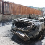 Auto incendiate C.da Fucile pressi scuola Albino Luciani (7)