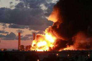 Incendio Rafineria Milazzo