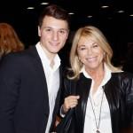Il modello dello spot, Alessandro Minnella, con Rita Dalla Chiesa