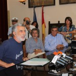 Conf stampa del Sindaco su Ospedale Piemonte  , 1 ottobre 2014 (1)