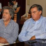 Conf stampa del Sindaco su Ospedale Piemonte  , 1 ottobre 2014 Santi Sorrenti e Paolo David