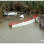 Galati Marina la mareggiata del 7 novembre 2014 invade l'area del campo di calcio  (5)