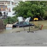 Galati Marina la mareggiata del 7 novembre 2014 invade l'area del campo di calcio  (6)