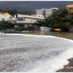 Galati Marina la mareggiata del 7 novembre 2014 invade l'area del campo di calcio  (7)