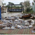 Galati Marina la mareggiata del 7 novembre 2014 invade le case  (2)