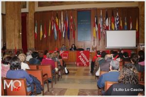Assemblea della Cgil nel salone delle Bandiere