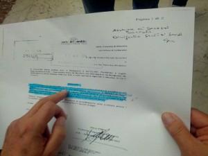 Il documento dell'Aibi del 2013