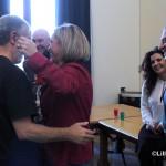 Auguri natale 2014 sindaco Accorinti ed Emilia Barrile  1