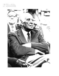 Enrico Vinci - Presidente Federale dal 1976 al 1992. Scomparso nel 2002,
