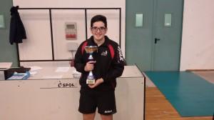 Gianluca Zaccone !° class. cat. allievi
