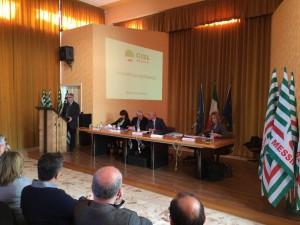 Consiglio Generale Cisl Messina febbraio 2015 - 2