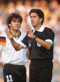 Tullio Lanese durante gli Europei del 1992