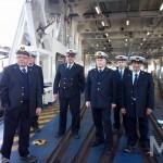 L'equipaggio della n/t Messina