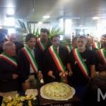 Da sx si sindaci di Reggio Villa e Messina