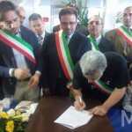 Accorinti firma il protocollo
