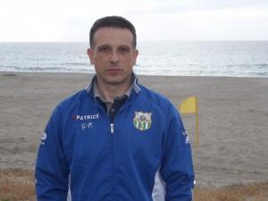 Giacomo Picciolo, presidente Beach Soccer Villafranca
